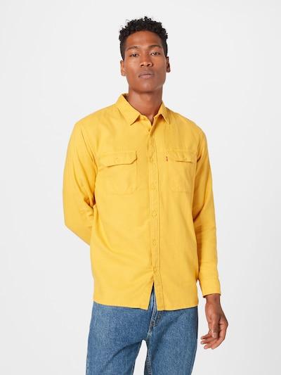 LEVI'S Hemd 'Jackson Worker' in gelb: Frontalansicht