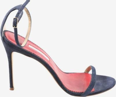 Carolina Herrera Riemchenpumps in 40 in blau / rot, Produktansicht
