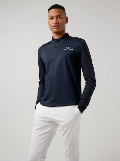 J.Lindeberg Shirt 'Bridge' in de kleur Navy, Productweergave