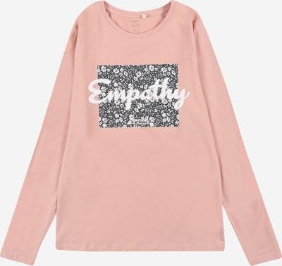 NAME IT Tričko 'KAMETTE' - antracitová / ružová / biela, Produkt