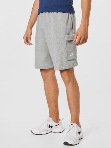 Pantaloni de la Nike Sportswear pe gri