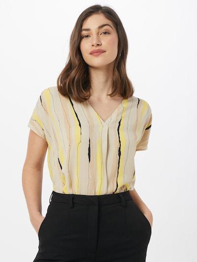 MINE TO FIVE Bluse in braun / gelb / schwarz, Modelansicht