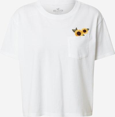 HOLLISTER Paita värissä keltainen / khaki / valkoinen, Tuotenäkymä