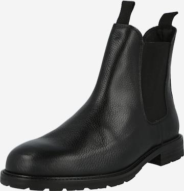 Shoe The Bear Chelsea-saapad 'York', värv must