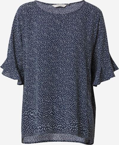 NÜMPH Блуза 'Nucourtney' в синьо / бяло, Преглед на продукта