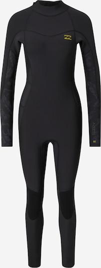 BILLABONG Wetsuit '302 SYNERGY BZ FL FU' in de kleur Geel / Donkergrijs / Zwart, Productweergave