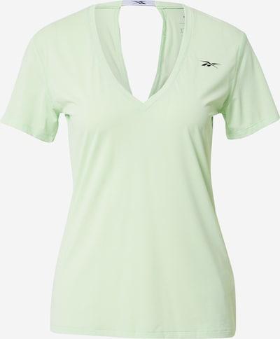 REEBOK T-shirt fonctionnel en vert pastel, Vue avec produit