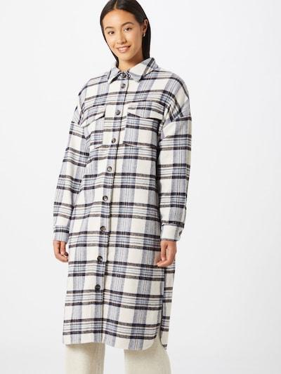 SISTERS POINT Blouse 'Vaila' in de kleur Crème / Donkerblauw / Zwart, Modelweergave