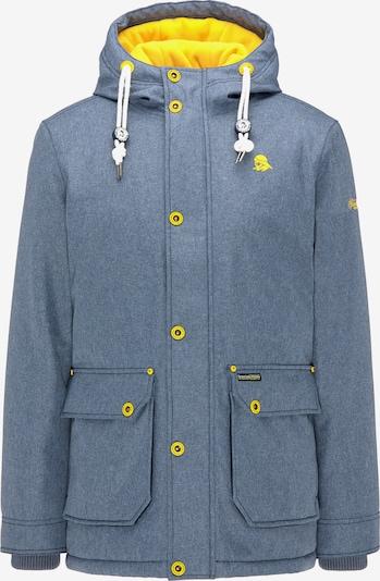 Schmuddelwedda Winterjas in de kleur Blauw, Productweergave