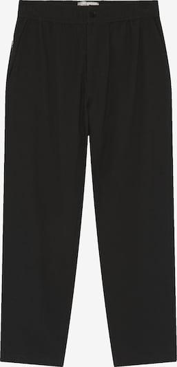 Thinking MU Hose ' Travel Pant ' in schwarz, Produktansicht