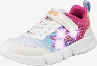 GEOX Sneaker 'ARIL ' in hellblau / dunkelpink / weiß, Produktansicht