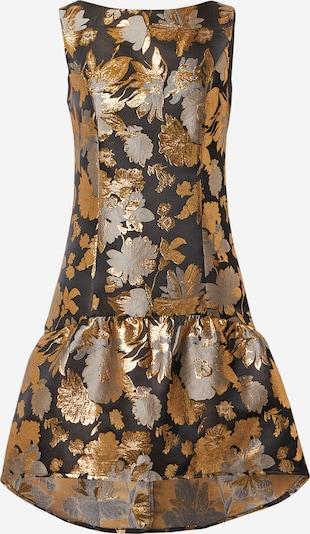 Chi Chi London Obleka 'Dania' | zlata / srebrno-siva / črna barva, Prikaz izdelka