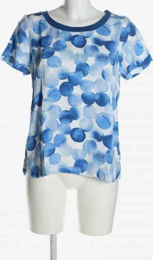 Sandwich Print-Shirt in M in blau / weiß, Produktansicht