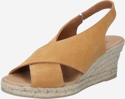 JUTELAUNE Sandale in braun, Produktansicht