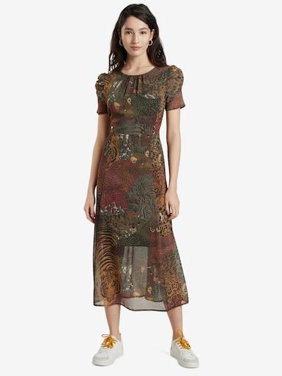 Desigual Kleid 'SALOMON' in grün / mischfarben, Modelansicht