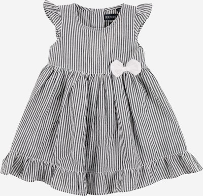 BLUE SEVEN Kleid in rauchgrau / weiß, Produktansicht