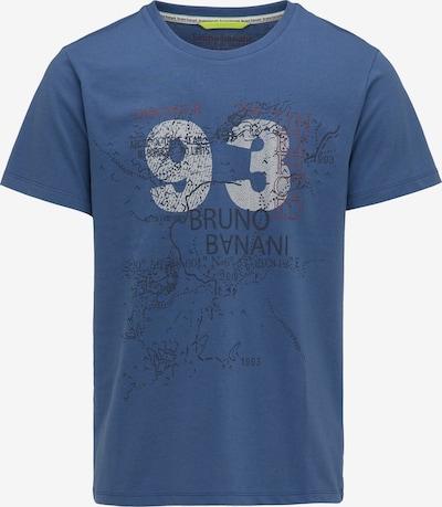 BRUNO BANANI Shirt in blau / grau, Produktansicht