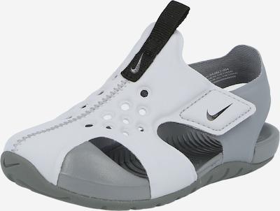 Nike Sportswear Cipele za plažu/kupanje 'Sunray Protect 2' u svijetlosiva / tamo siva, Pregled proizvoda