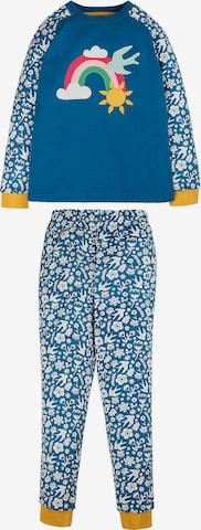 Frugi Schlafanzug 'JAMIE JIM' in Blau