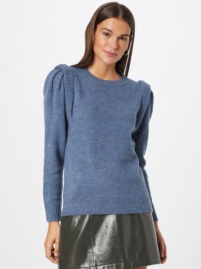 ONLY Pullover 'Sunflower' in blau, Modelansicht