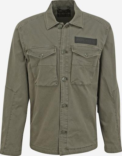 REPLAY Jacke Übergangsjacke in grün, Produktansicht