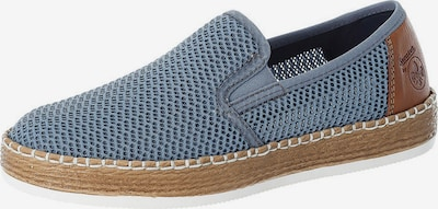 RIEKER Espadrilles in Smoke blue / Brown, Item view