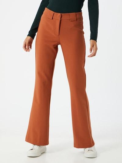 Y.A.S Hose 'Nuteo' in orangerot, Modelansicht