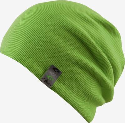 chillouts Mütze 'Brooklyn' in hellgrün / schwarz, Produktansicht
