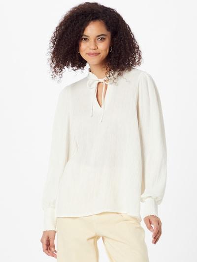 b.young Блуза 'FLIA' в бяло, Преглед на модела