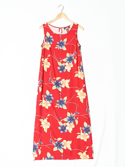 La Cabana Kleid in S in feuerrot, Produktansicht