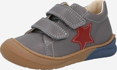 NATURINO Väikelaste jalatsid 'SPAZZ' tumehall / helepunane, Tootevaade