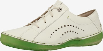 JOSEF SEIBEL Athletic Lace-Up Shoes 'Fergey' in White
