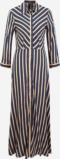 Y.A.S (Tall) Kleid 'SAVANNA' in beige / dunkelblau, Produktansicht