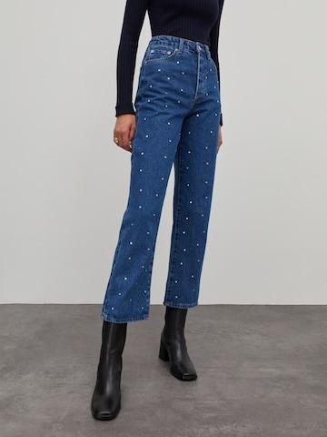 EDITED Jeans 'Simea' in Blauw