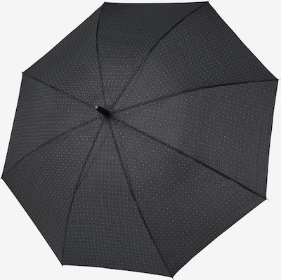 Doppler Regenschirm 'Stockholm' in schwarz / weiß, Produktansicht