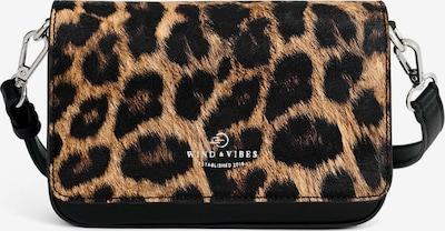 Borsa a tracolla 'Brooklyn Vegan' WIND & VIBES di colore beige / nero, Visualizzazione prodotti