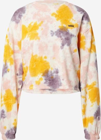 VANS Sweatshirt in Cream / yellow gold / Purple / Light pink, Item view