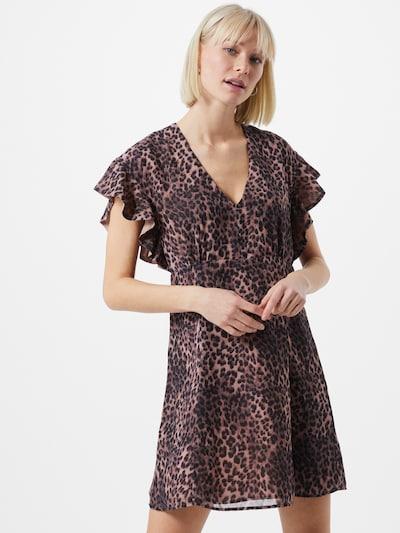 GUESS Kleid 'AYAR' in braun / rosa, Modelansicht