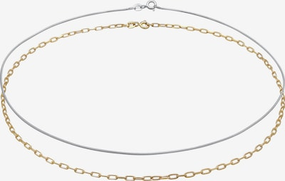 ELLI Halskette Bi Color_Tri Color, Choker in gold / silber, Produktansicht
