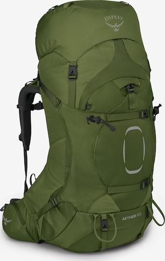 Osprey Rucksack 'Aether' in grün / schwarz, Produktansicht