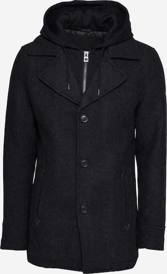 INDICODE JEANS Přechodný kabát 'Adair' - šedá / černá, Produkt