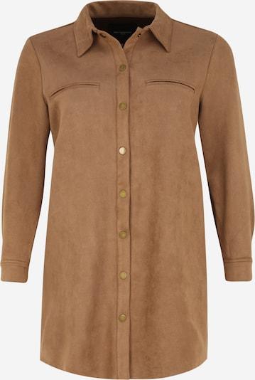 ONLY Carmakoma Between-Seasons Coat 'Bluma' in Brown, Item view