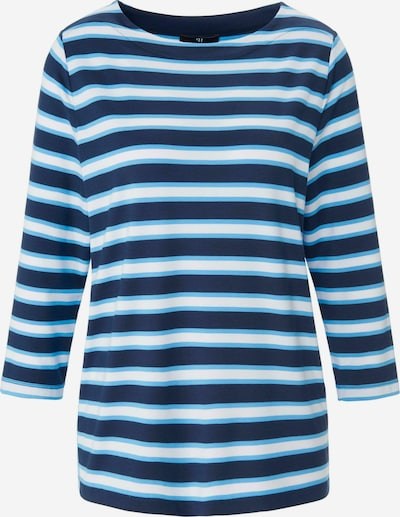 Peter Hahn Shirt in hellblau / dunkelblau / weiß, Produktansicht