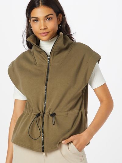Gina Tricot Weste 'Cindy' in khaki, Modelansicht