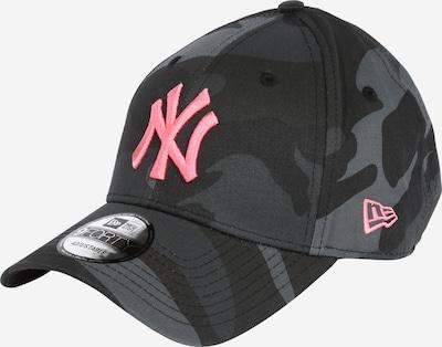 Cappello da baseball NEW ERA di colore grigio / antracite / grafite / rosa, Visualizzazione prodotti
