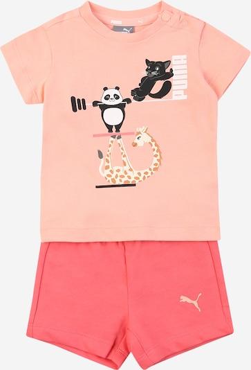 PUMA Set 'Paw' in mischfarben / rosa / pitaya, Produktansicht