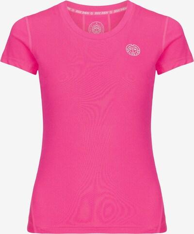 BIDI BADU T-Shirt 'Tech' in pink / weiß, Produktansicht