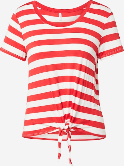 ONLY Tričko 'ARLI' - červená / biela, Produkt