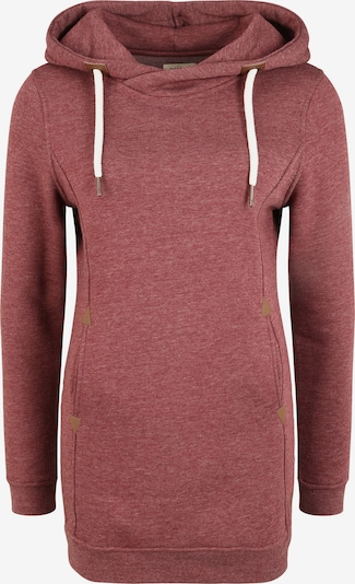 Oxmo Hoodie 'Vicky Hood-Long' in rot, Produktansicht