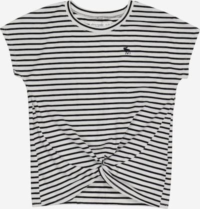 Abercrombie & Fitch T-Shirt in schwarz / weiß, Produktansicht